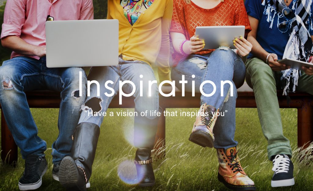 Inspiration Vision Aspirations Ability Creative Concept